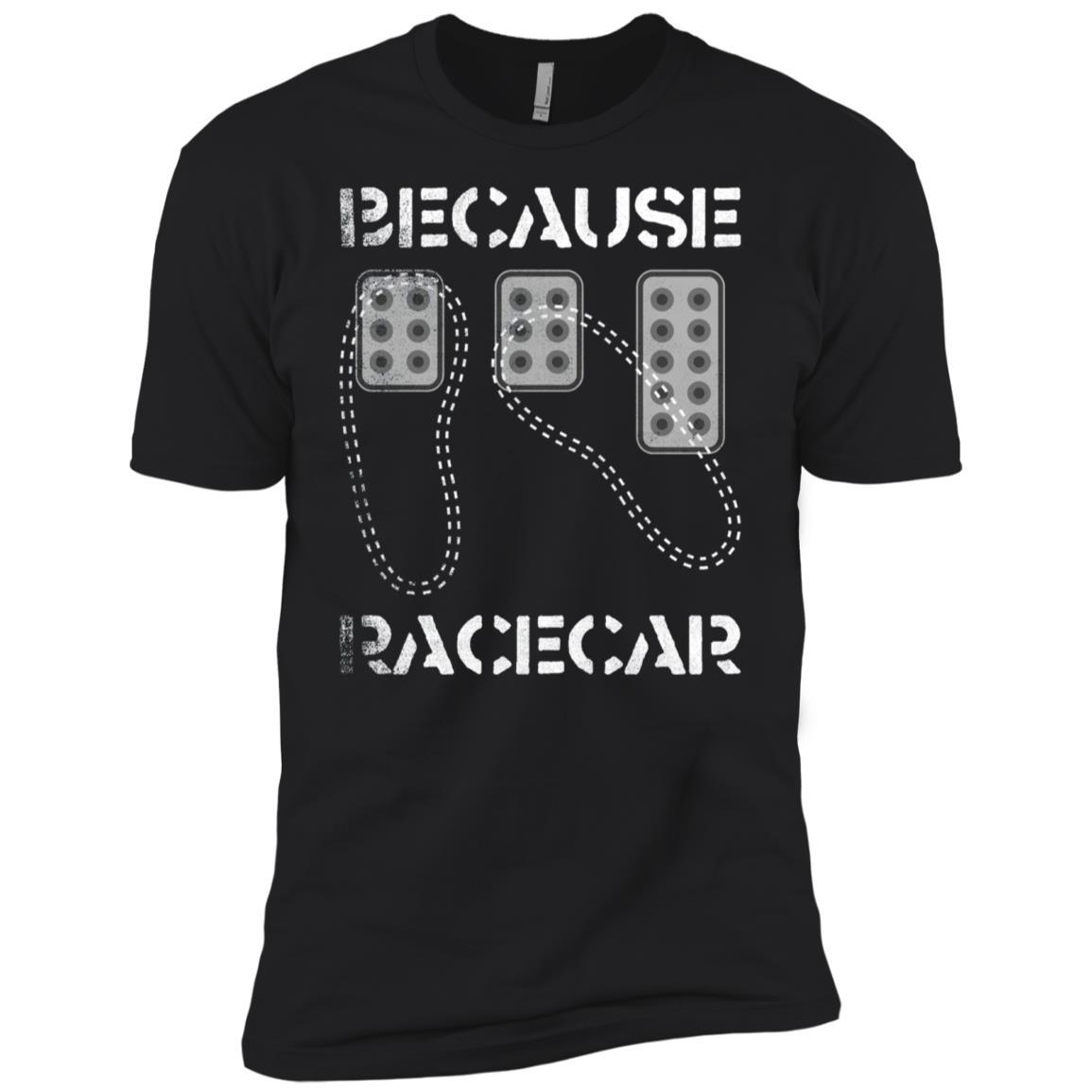 Three Pedals Heel Toe Because Race Car Men Short Sleeve T-Shirt