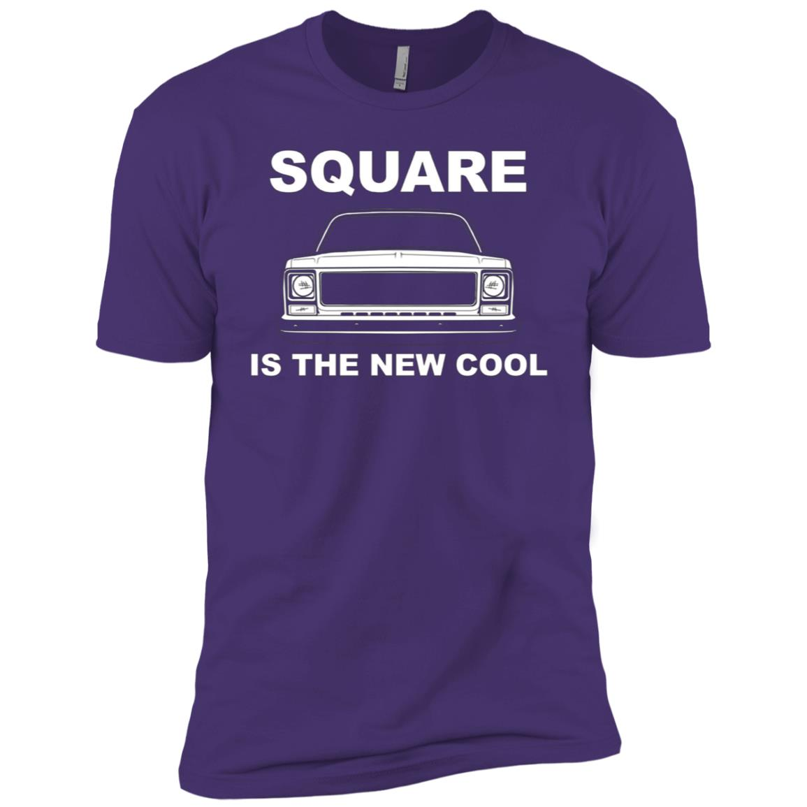 Square is the New Cool – Men Short Sleeve T-Shirt