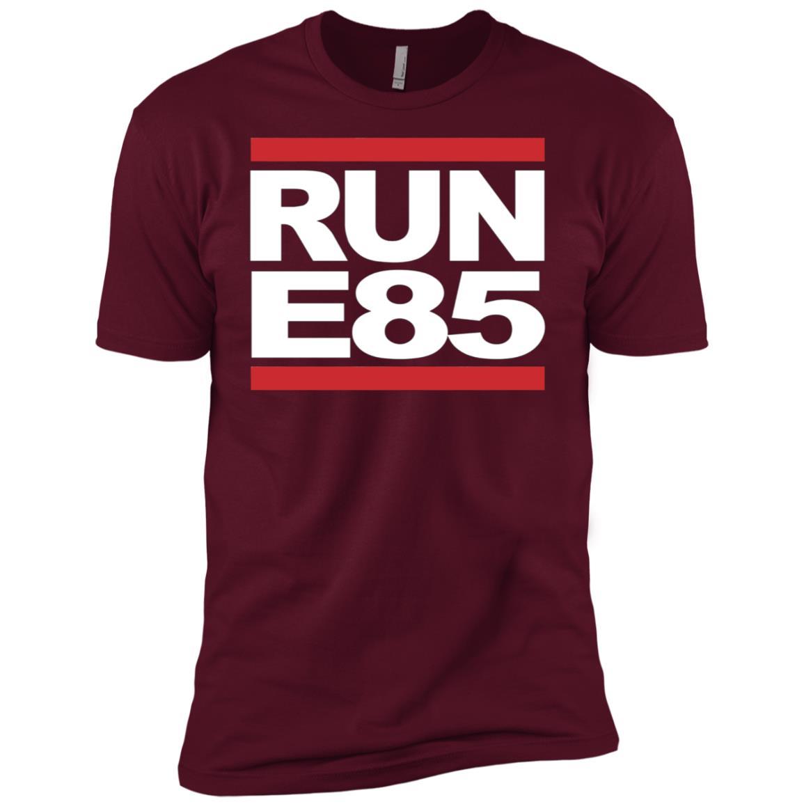 Run E85 – Funny Street Car Racing Men Short Sleeve T-Shirt
