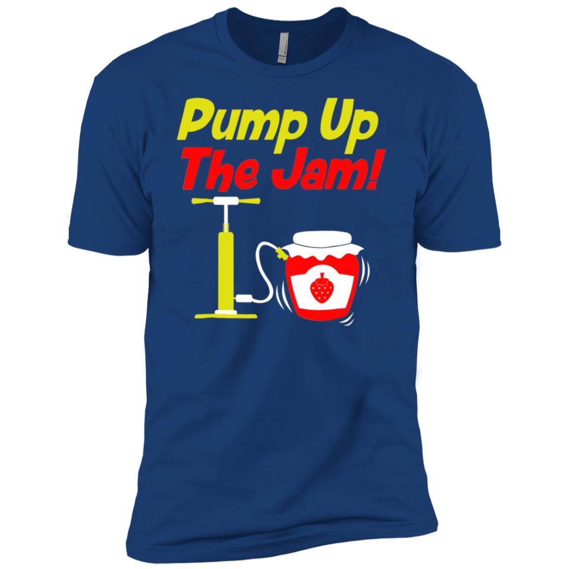Pump Up The Jam, Pump It Up! – Funny 90s Music Parody Tee Men Short Sleeve T-Shirt