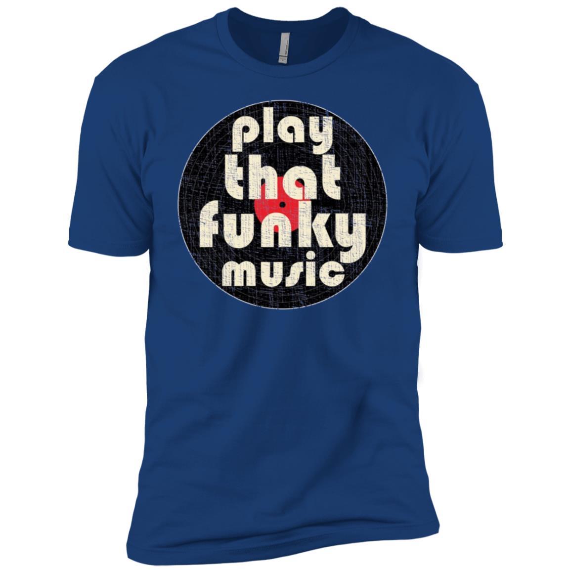 Play That Funky Music Vintage 1970 Men, Women, Kids Men Short Sleeve T-Shirt