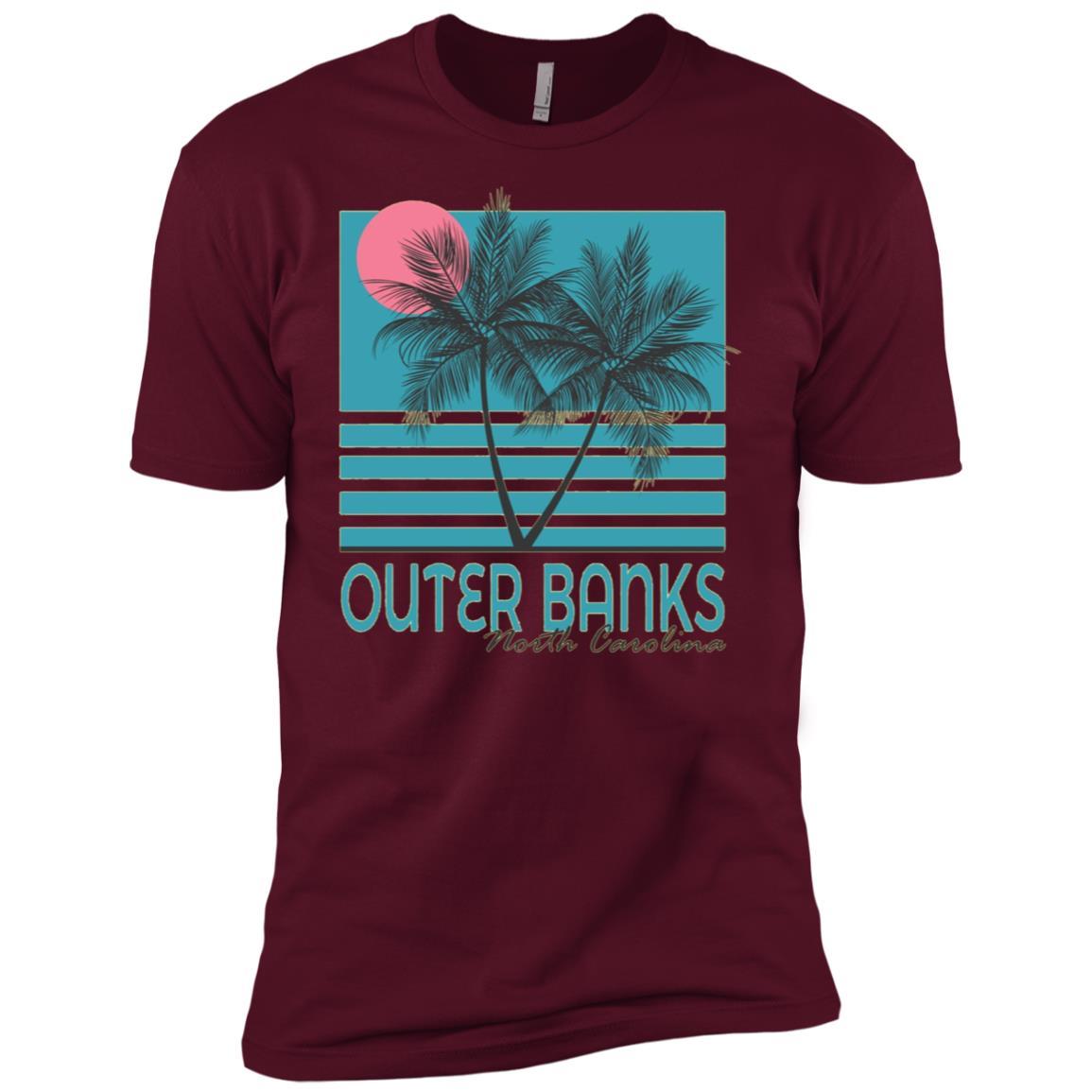 Outer Banks North Carolina Vintage Obx Men Short Sleeve T-Shirt