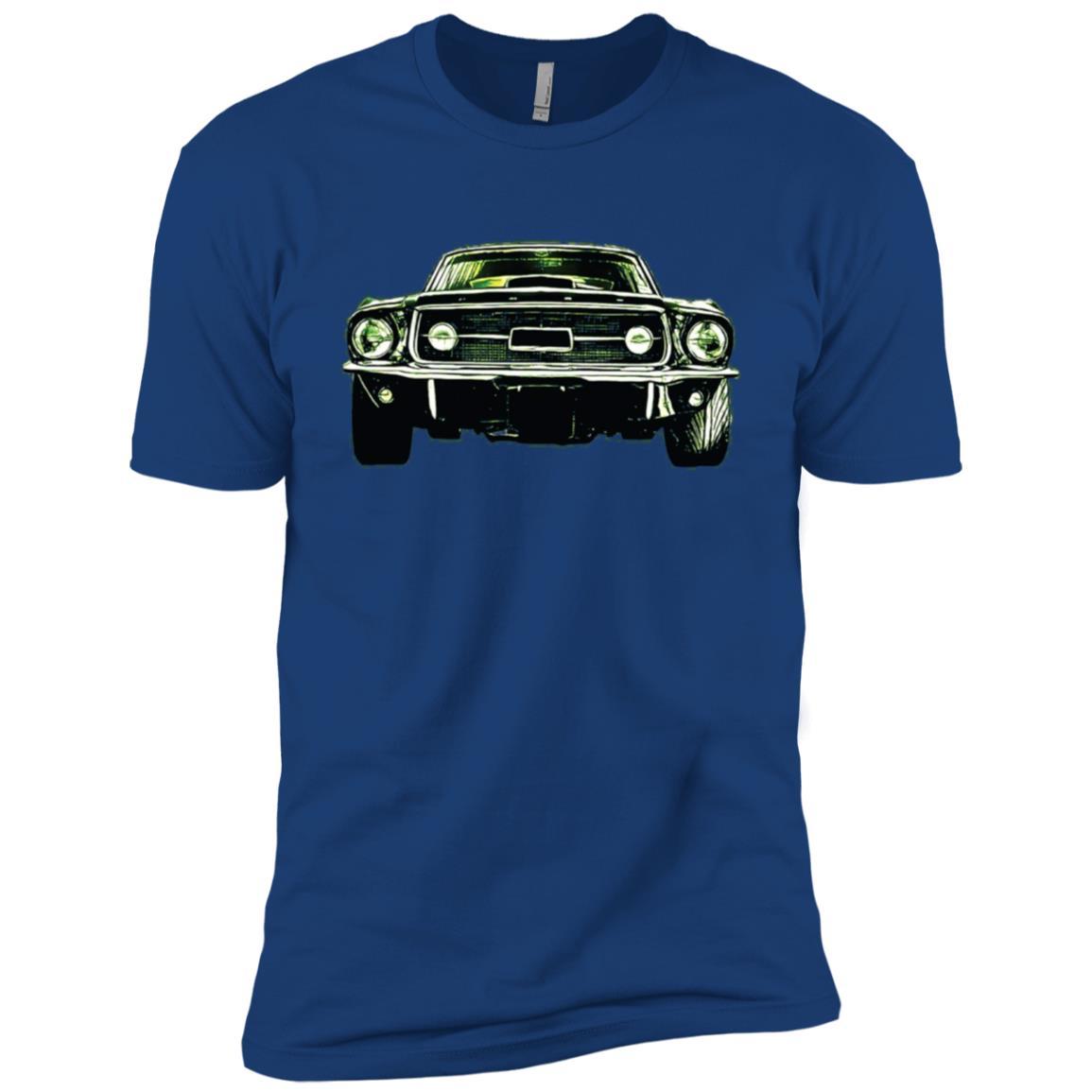 Vintage American Muscle Car Classic Car Men Short Sleeve T-Shirt