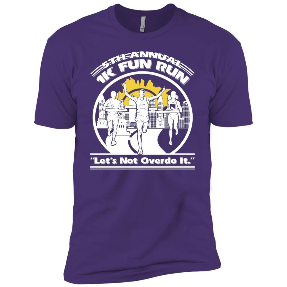 1K Fun Run 5th Annual Men Short Sleeve T-Shirt