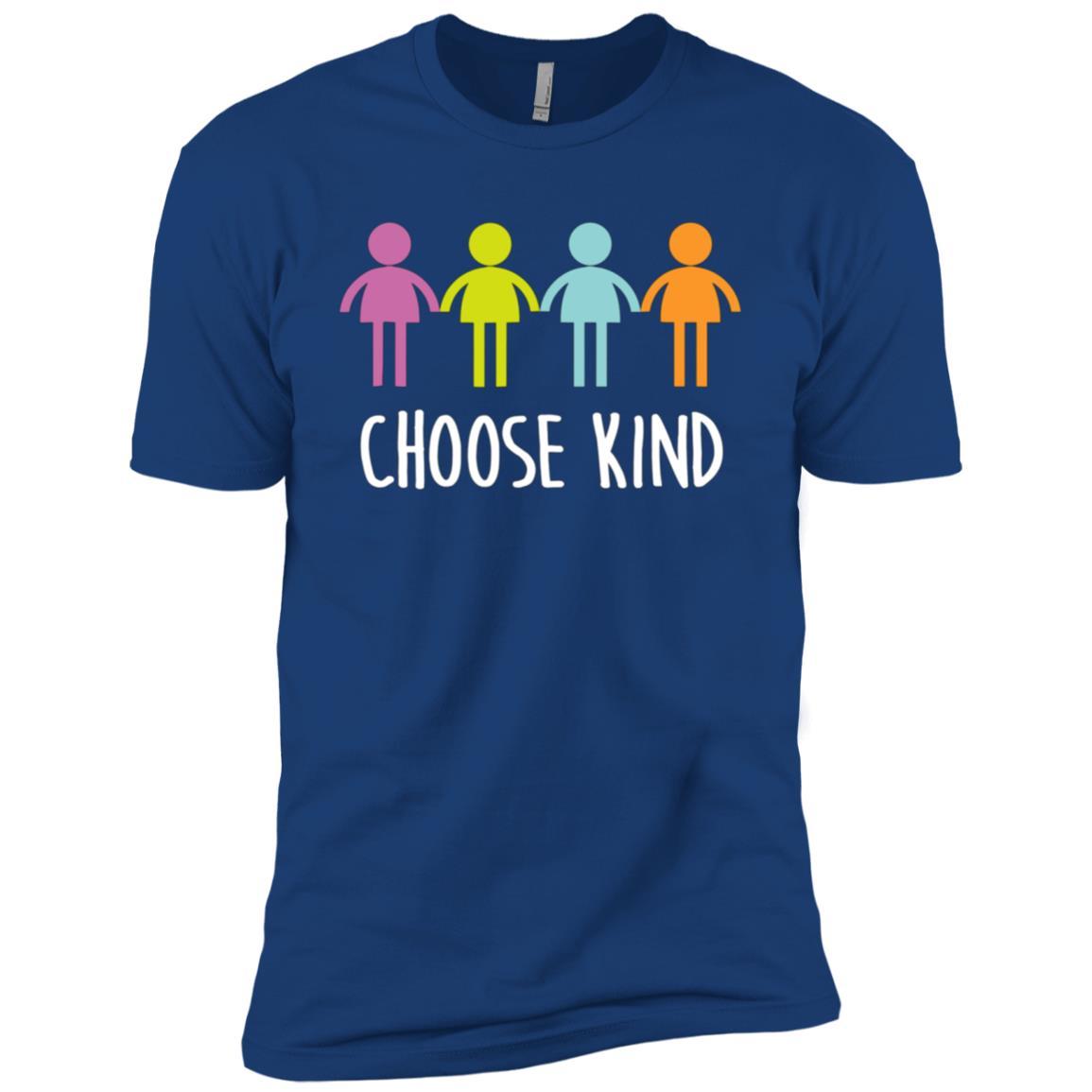 Choose Kind Anti Bullying Respect Movement Tee Men Short Sleeve T-Shirt