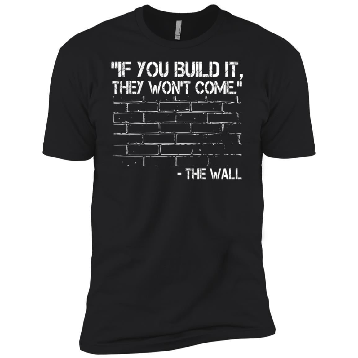 Build Wall Trump – Support POTUS 2020 Men Short Sleeve T-Shirt