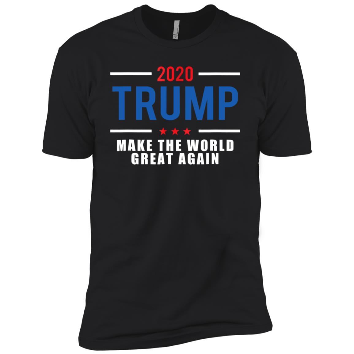2020 Trump Make The World Great Again Men Short Sleeve T-Shirt