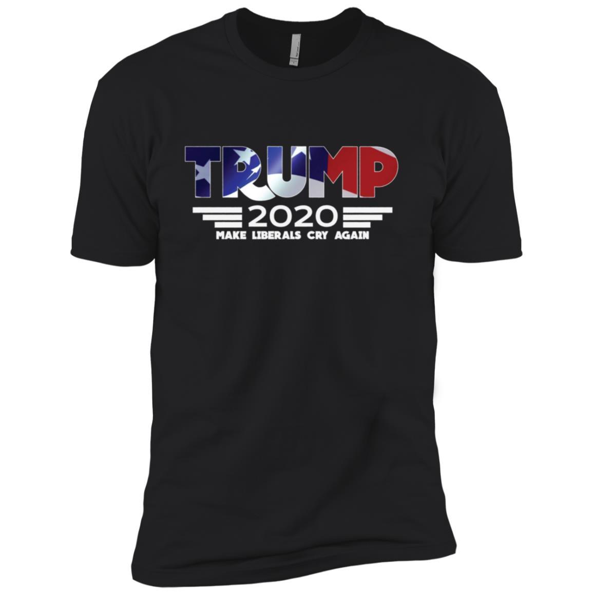 2020 Re-Elect 45 POTUS Trump Patriotic-5 Men Short Sleeve T-Shirt