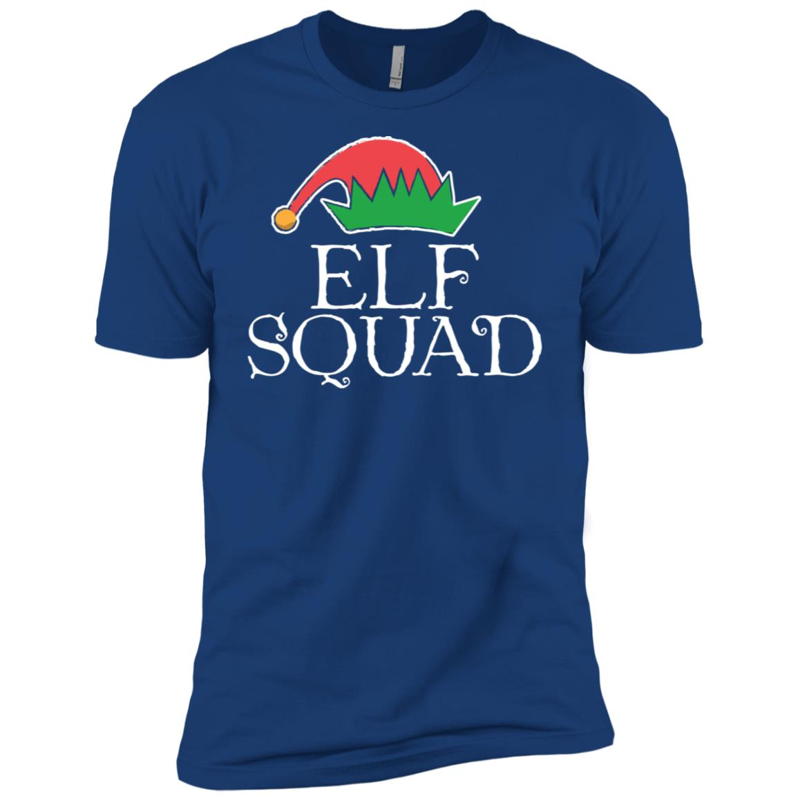 Christmas Elf Squad Men Short Sleeve T-Shirt