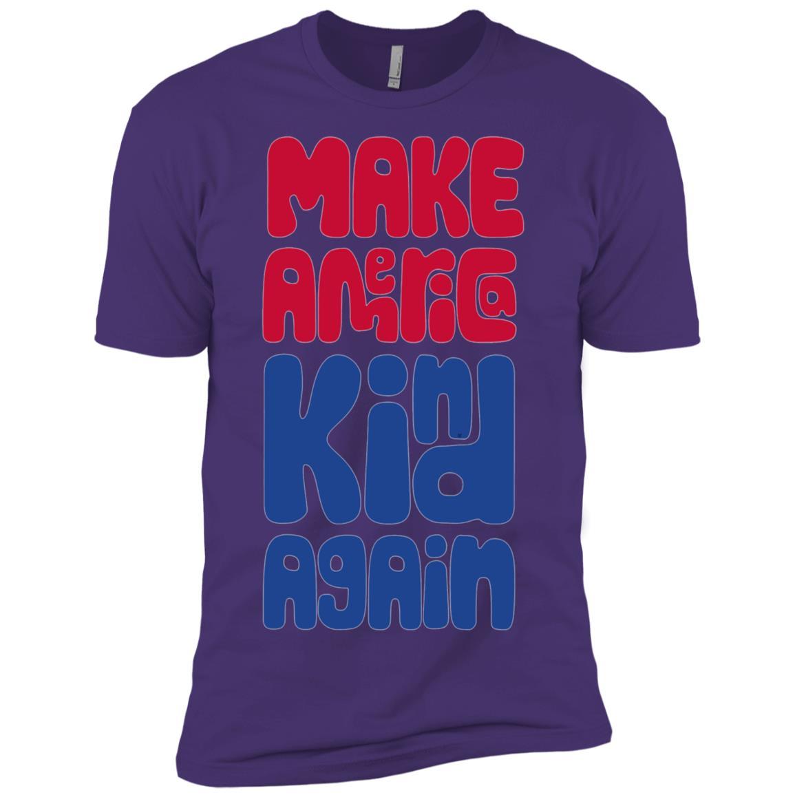 Kids Make America kind again, 4th of july Men Short Sleeve T-Shirt