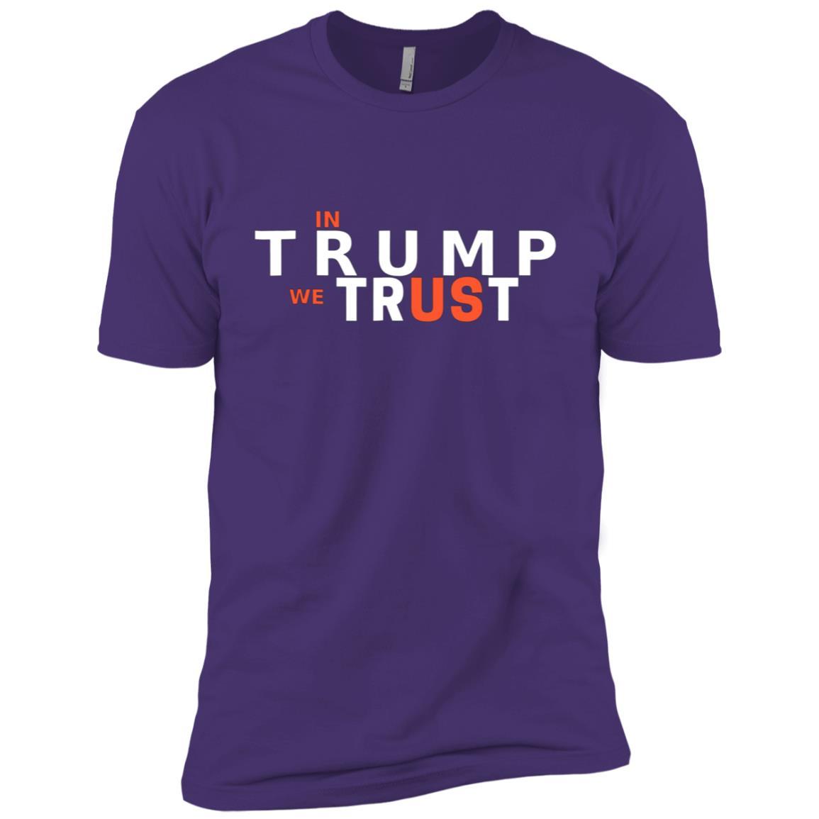 In Trump We Trust – 2020 Elections Men Short Sleeve T-Shirt