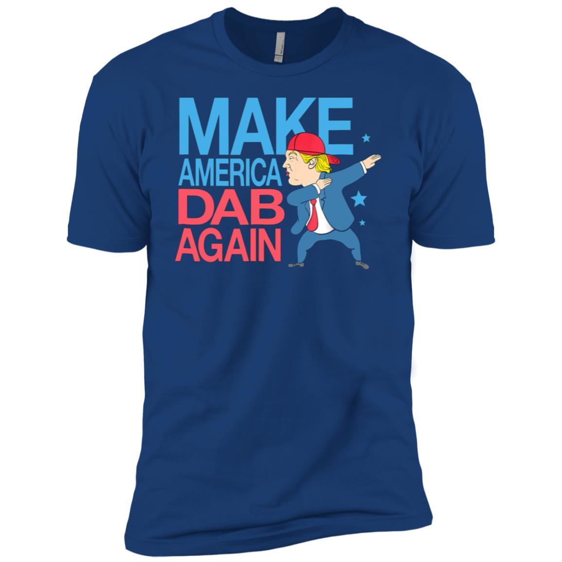 Donald Trump Funny Make America Dab Again Men Short Sleeve T-Shirt