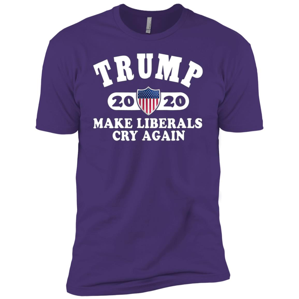 Donald Trump Election 2020 Make Liberals Cry Again GOP-9 Men Short Sleeve T-Shirt