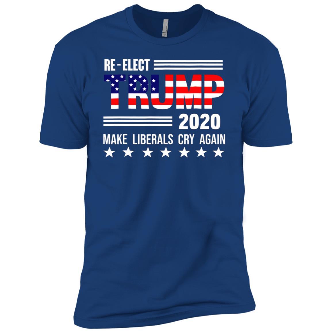 Donald Trump Election 2020 Make Liberals Cry Again GOP-3 Men Short Sleeve T-Shirt