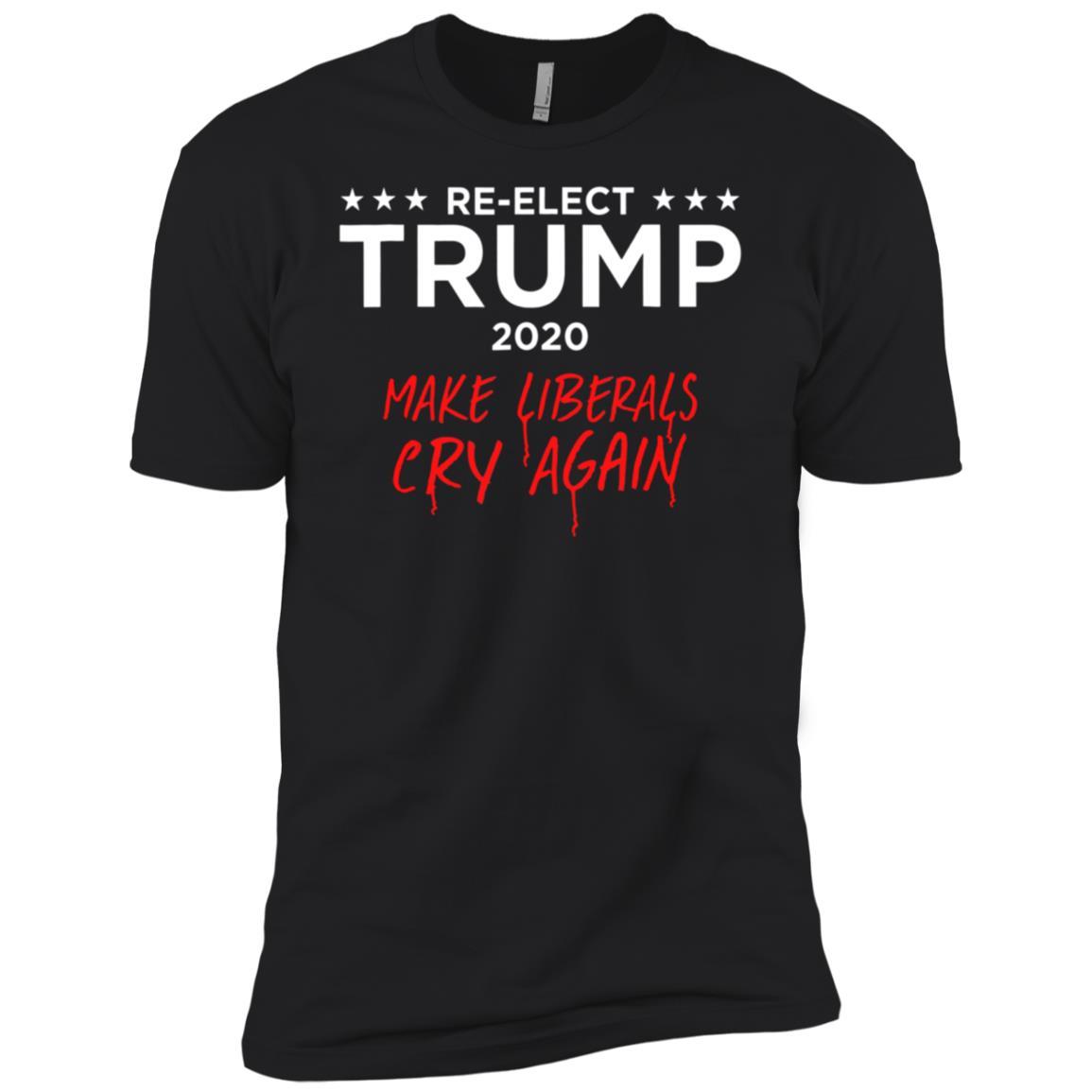 Donald Trump Election 2020 Make Liberals Cry Again GOP-1 Men Short Sleeve T-Shirt