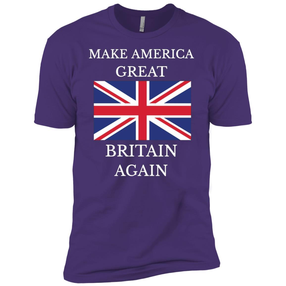 MAKE AMERICA GREAT BRITAIN AGAIN -3 Men Short Sleeve T-Shirt
