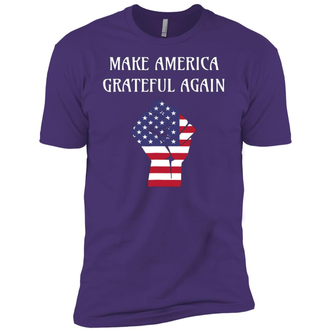 Make America Grateful Again -2 Men Short Sleeve T-Shirt