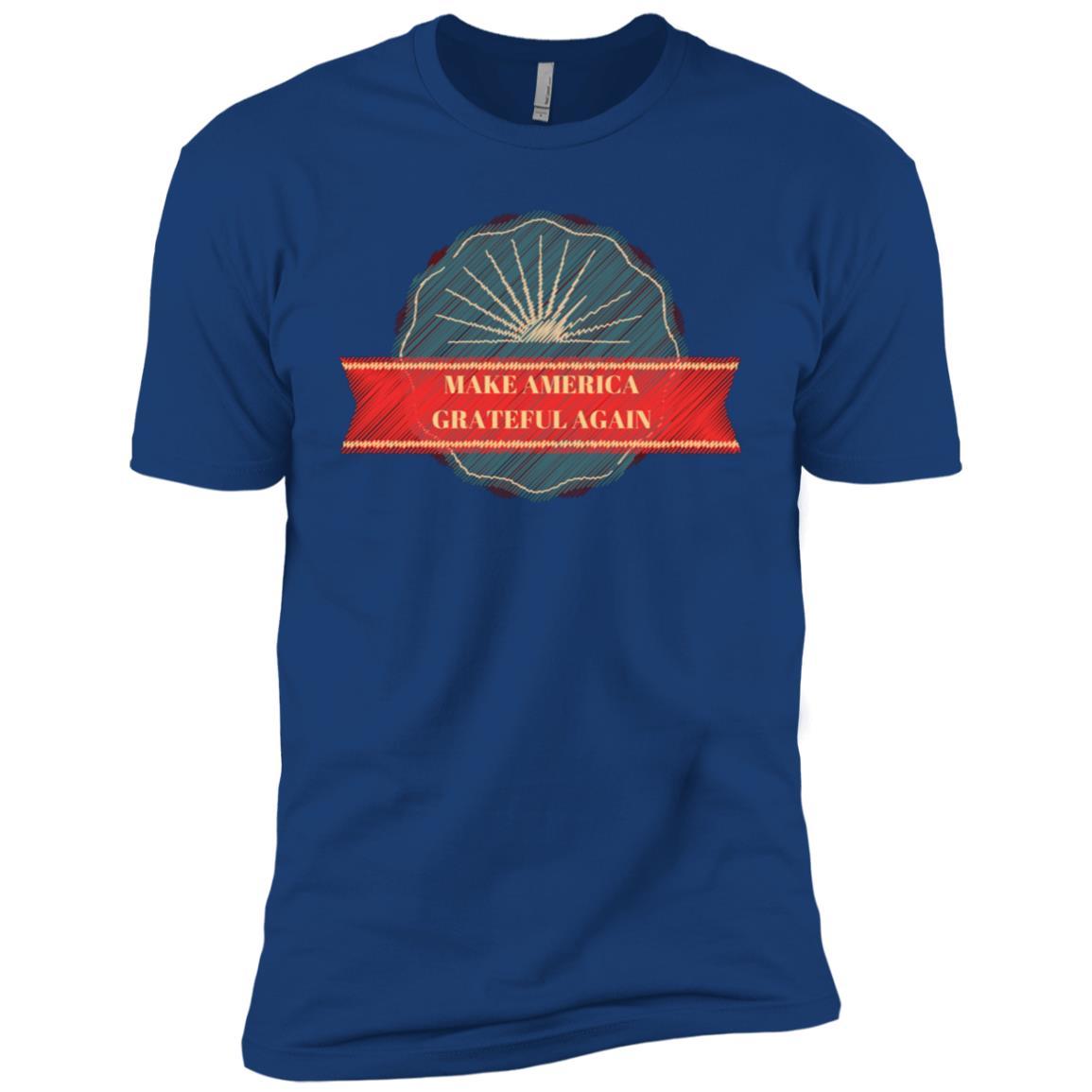 Make America Grateful Again Men Short Sleeve T-Shirt