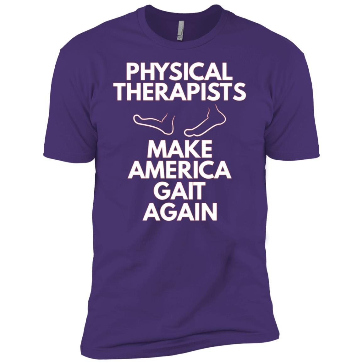 Make America Gait Again- Physical Therapy Gift Occupational Men Short Sleeve T-Shirt