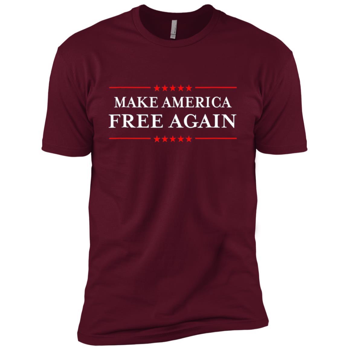 Make America Free Again Men Short Sleeve T-Shirt