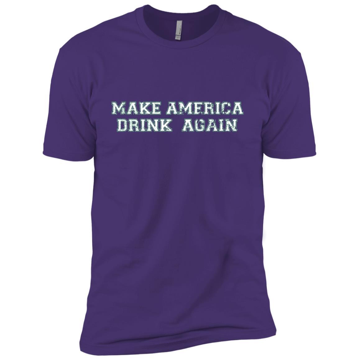 Make America Drink Again Men Short Sleeve T-Shirt