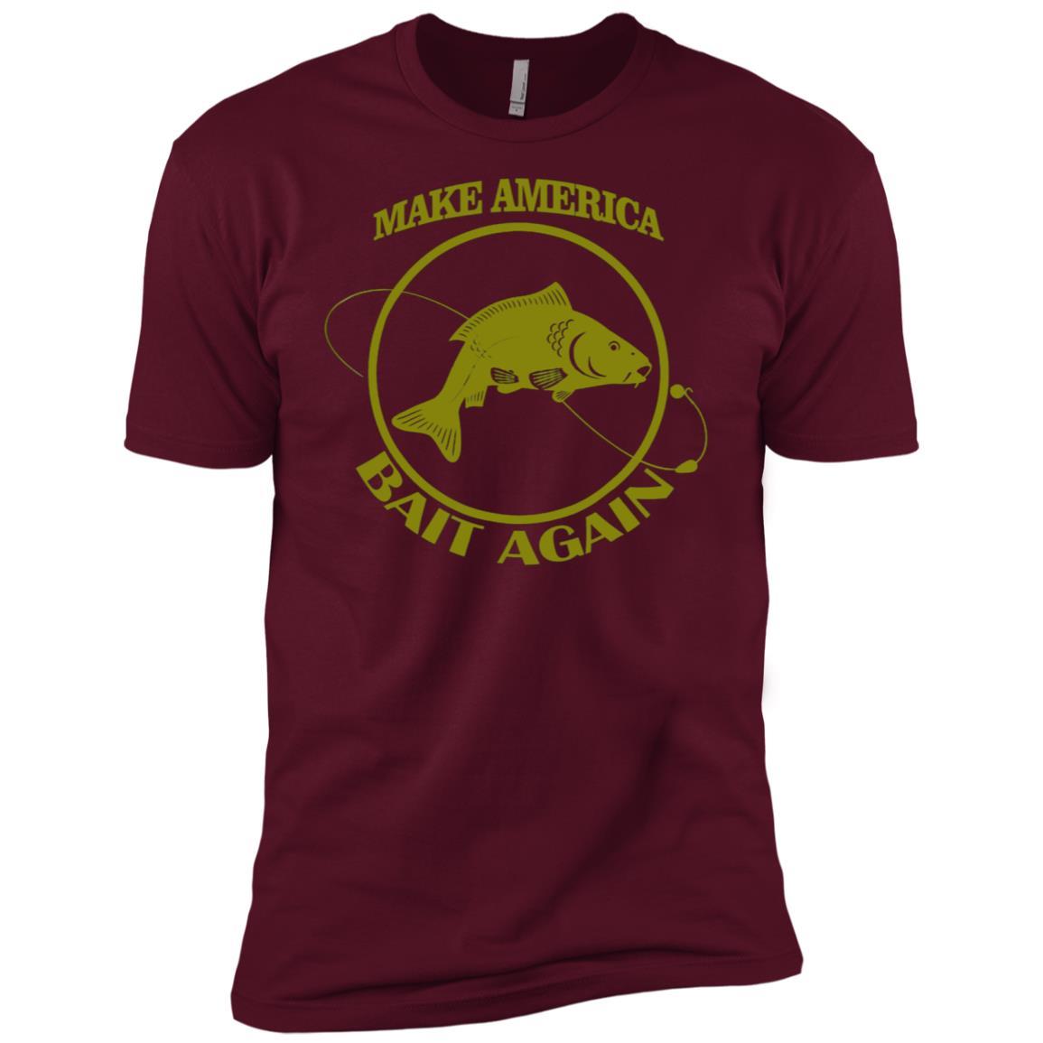 Make America Bait Again Men Short Sleeve T-Shirt