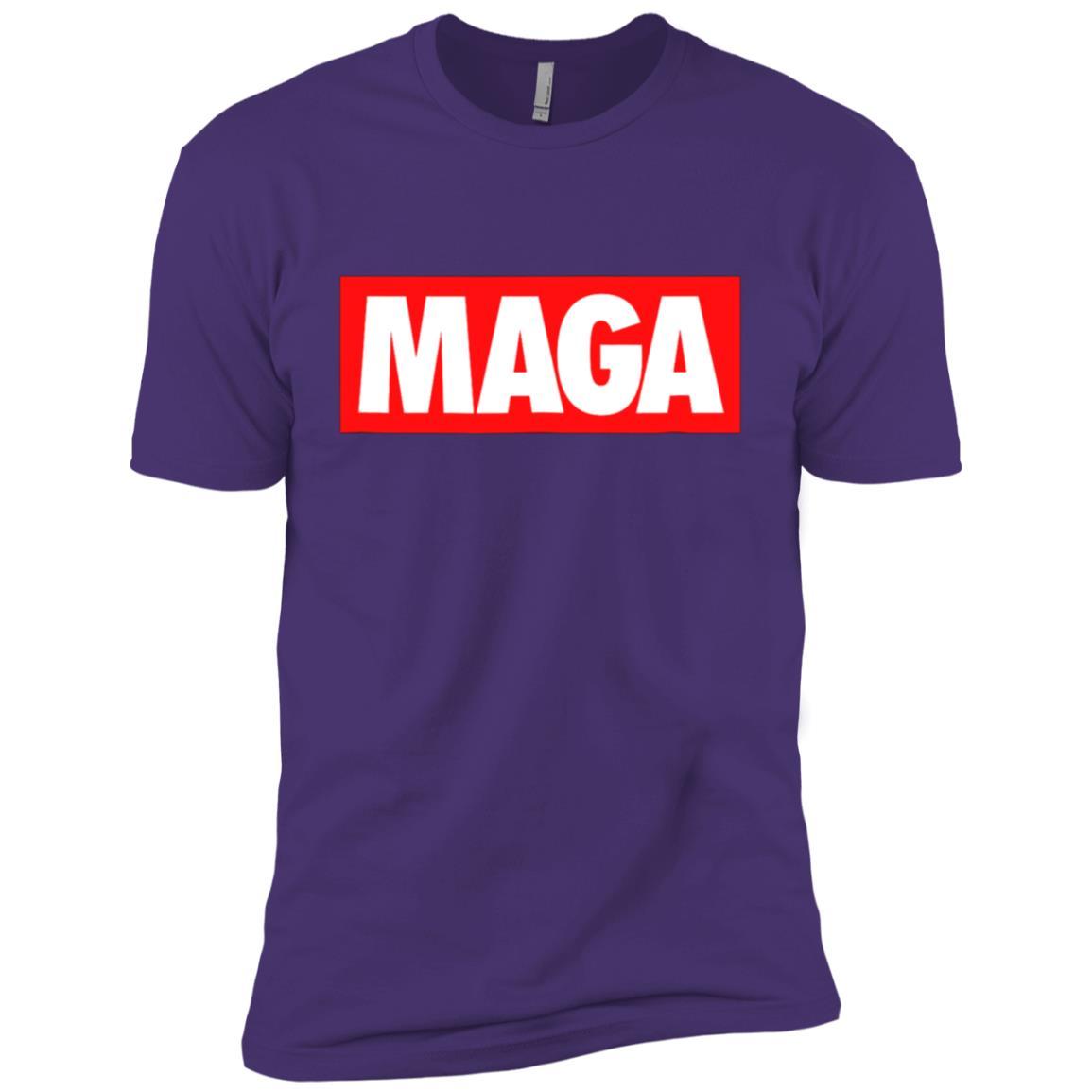 MAGA Retro America First Trump 2020 Republican Gift Men Short Sleeve T-Shirt