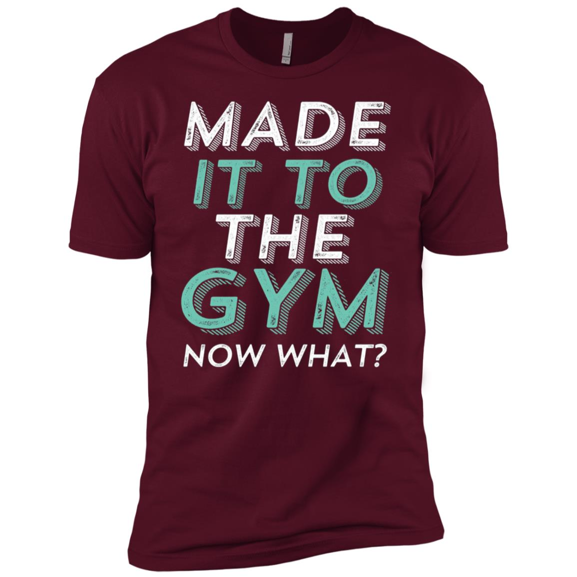 Funny Gym Motivation for Workout Exercise Running Men Short Sleeve T-Shirt