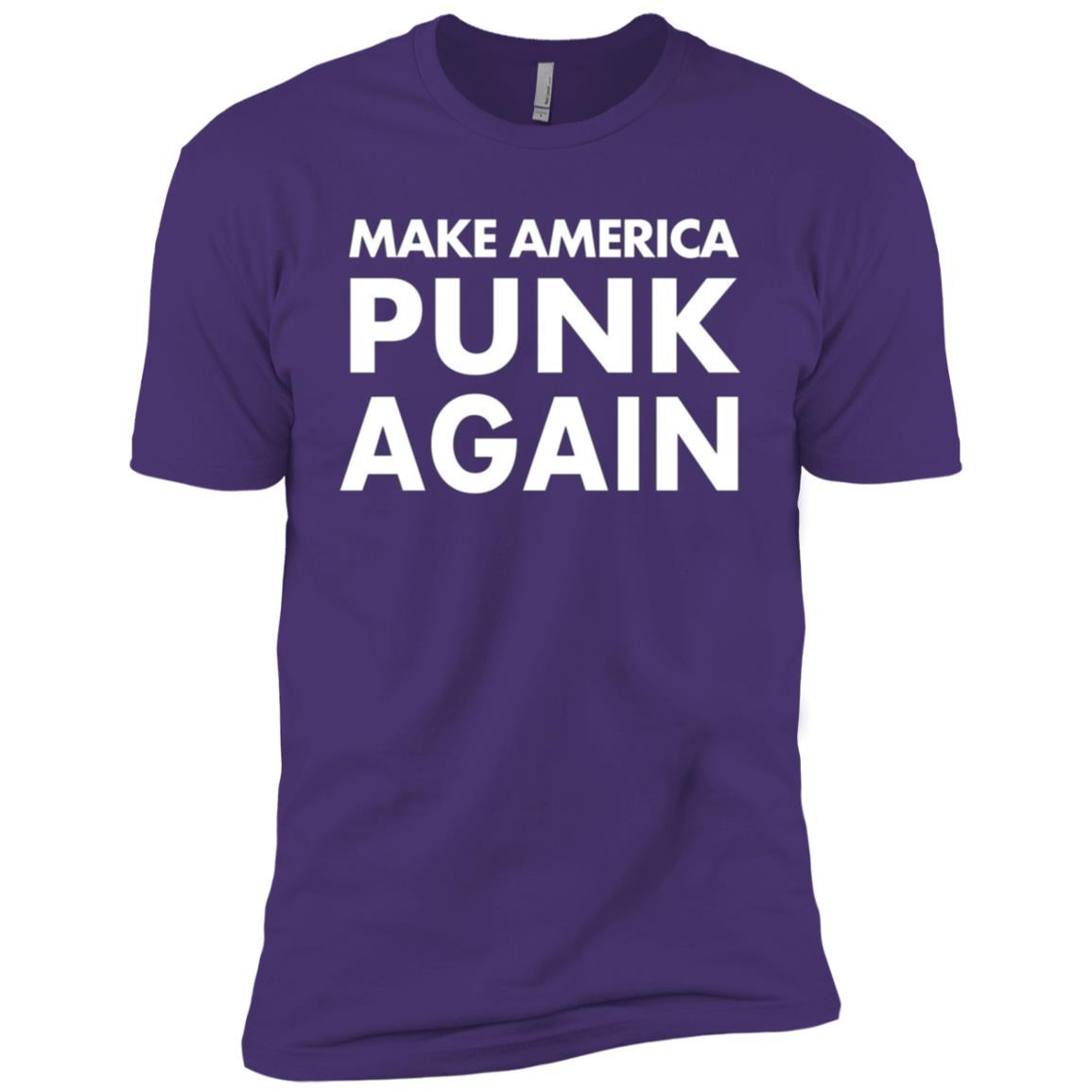 Make America Punk Again , Punk Men Short Sleeve T-Shirt