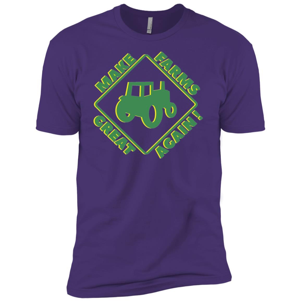 Make Our Farmers Great Again-Retro Farming -1 Men Short Sleeve T-Shirt