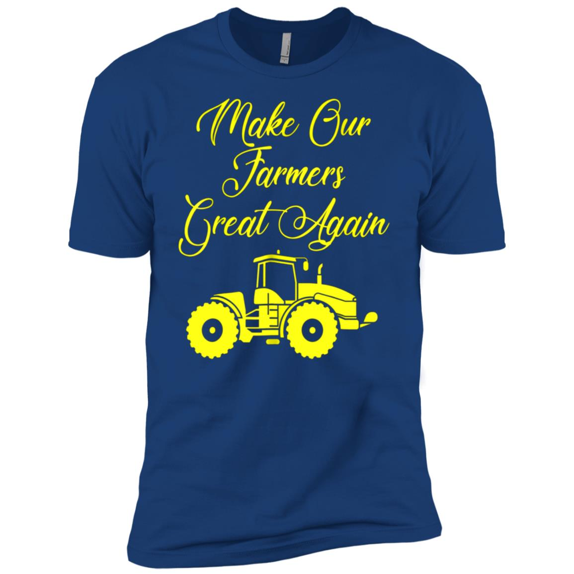 Make Our Farmers Great Again 2018 Gift Tee Men Short Sleeve T-Shirt