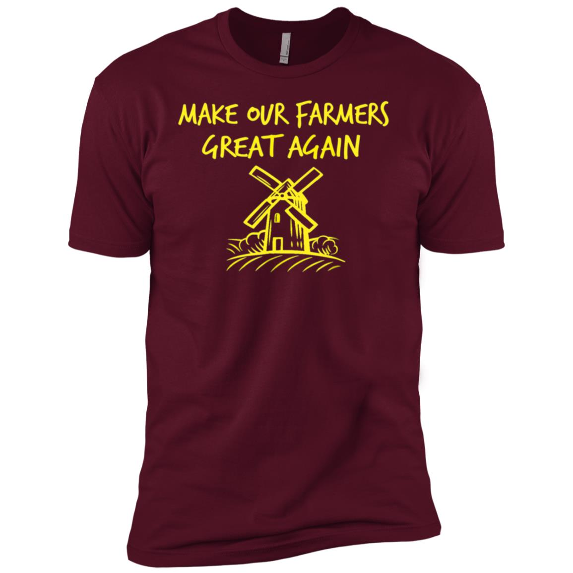 Make Our Farmers Great Again Men Short Sleeve T-Shirt