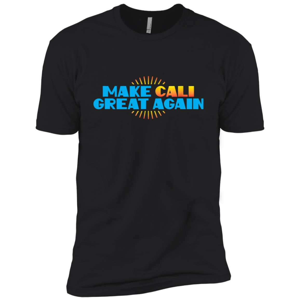 Make Cali Great Again US Event Rally Protest March Men Short Sleeve T-Shirt