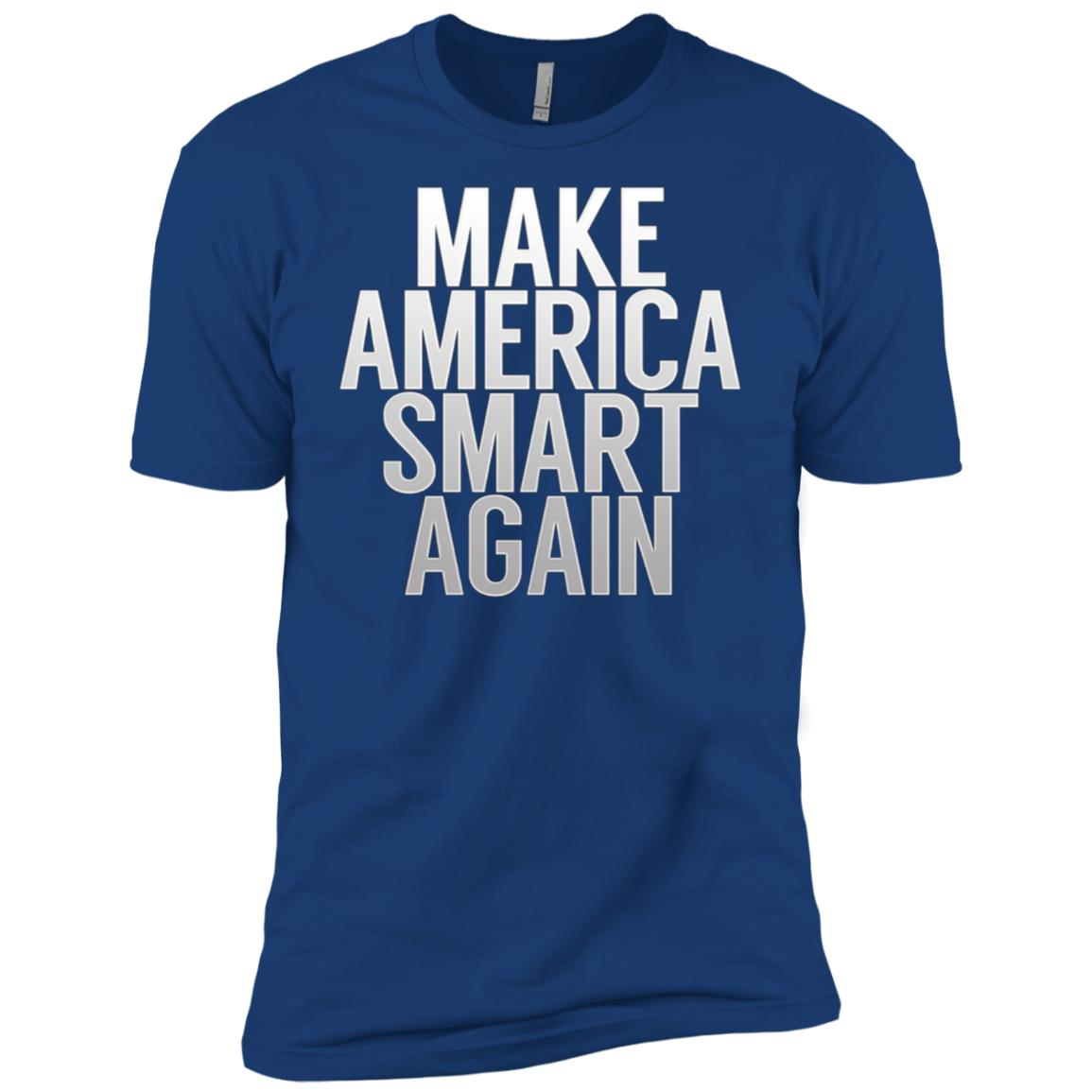 Make American Smart Again Science Men Short Sleeve T-Shirt