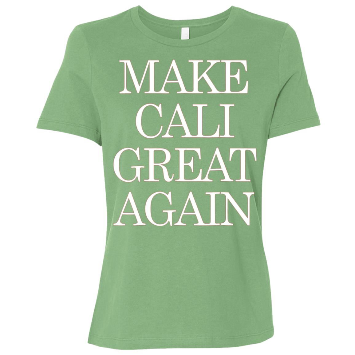 Make California Great Again Pro Trump Republican Women Short Sleeve T-Shirt