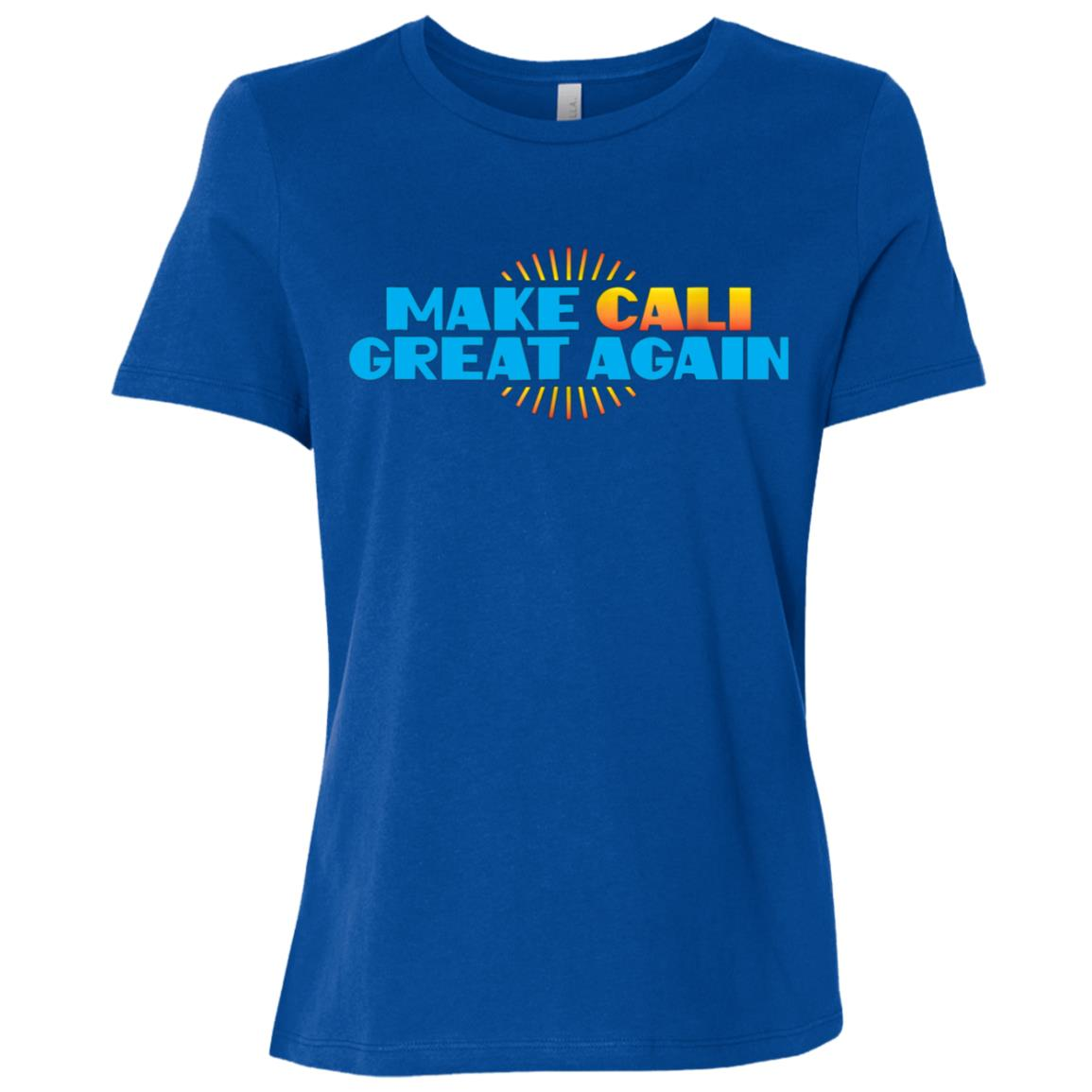 Make Cali Great Again US Event Rally Protest March Women Short Sleeve T-Shirt
