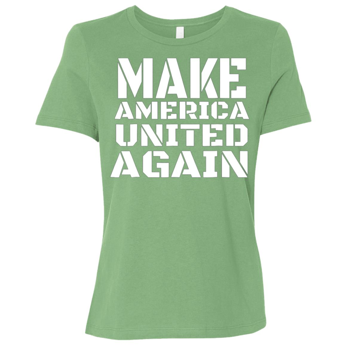Make American United Again Families belong Together T Women Short Sleeve T-Shirt