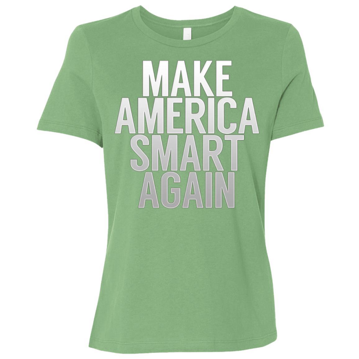 Make American Smart Again Science Women Short Sleeve T-Shirt
