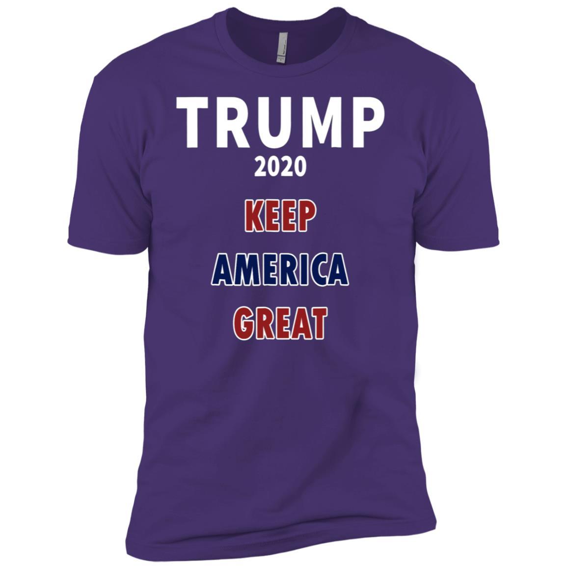 Trump 2020 – T1104 – trump 2020 flag Men Short Sleeve T-Shirt