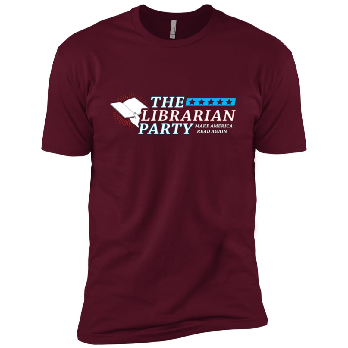 The Librarian Party – Make America Read Again Men Short Sleeve T-Shirt