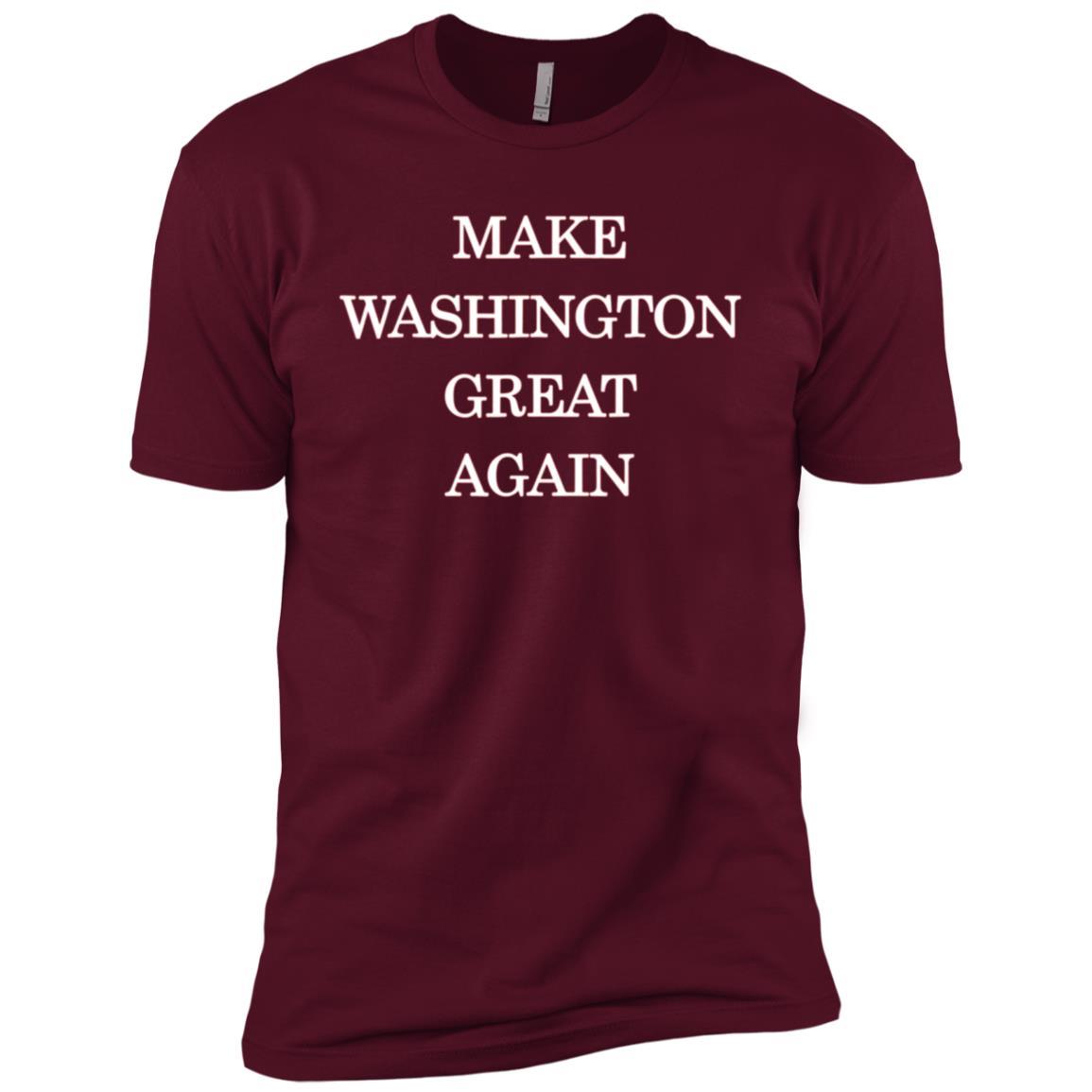 Make Washington Great Again Pro Trump Republican Men Short Sleeve T-Shirt