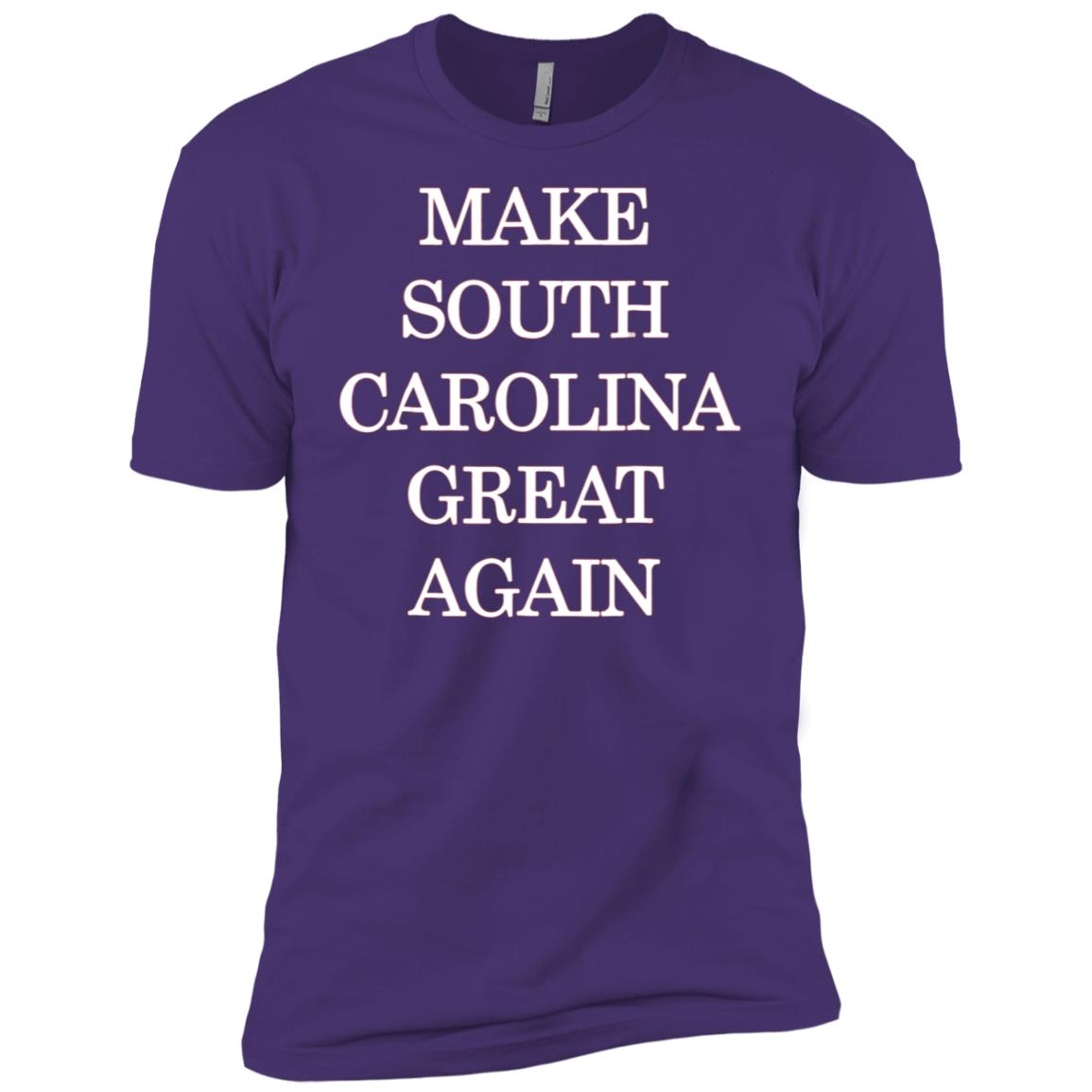 Make South Carolina Great Again Pro Trump Republican Men Short Sleeve T-Shirt