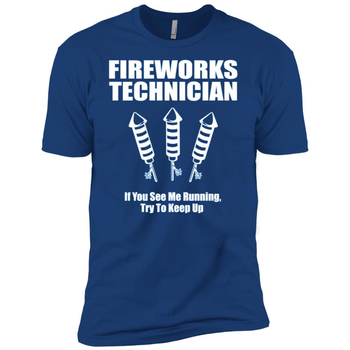 Fireworks Technician – Funny 4th of July Men Short Sleeve T-Shirt