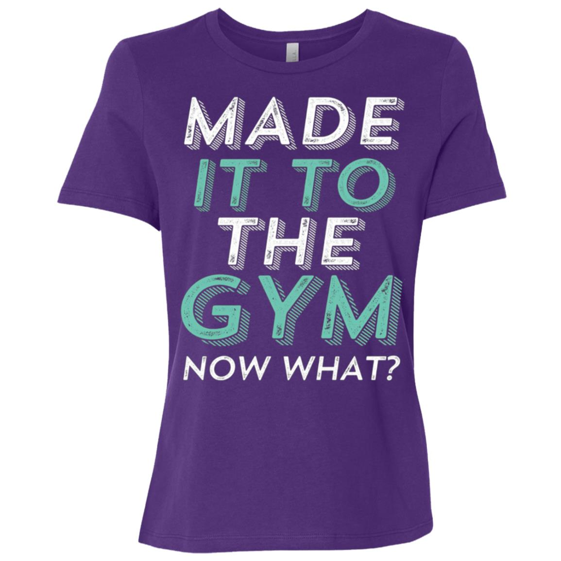 Funny Gym Motivation for Workout Exercise Running Women Short Sleeve T-Shirt