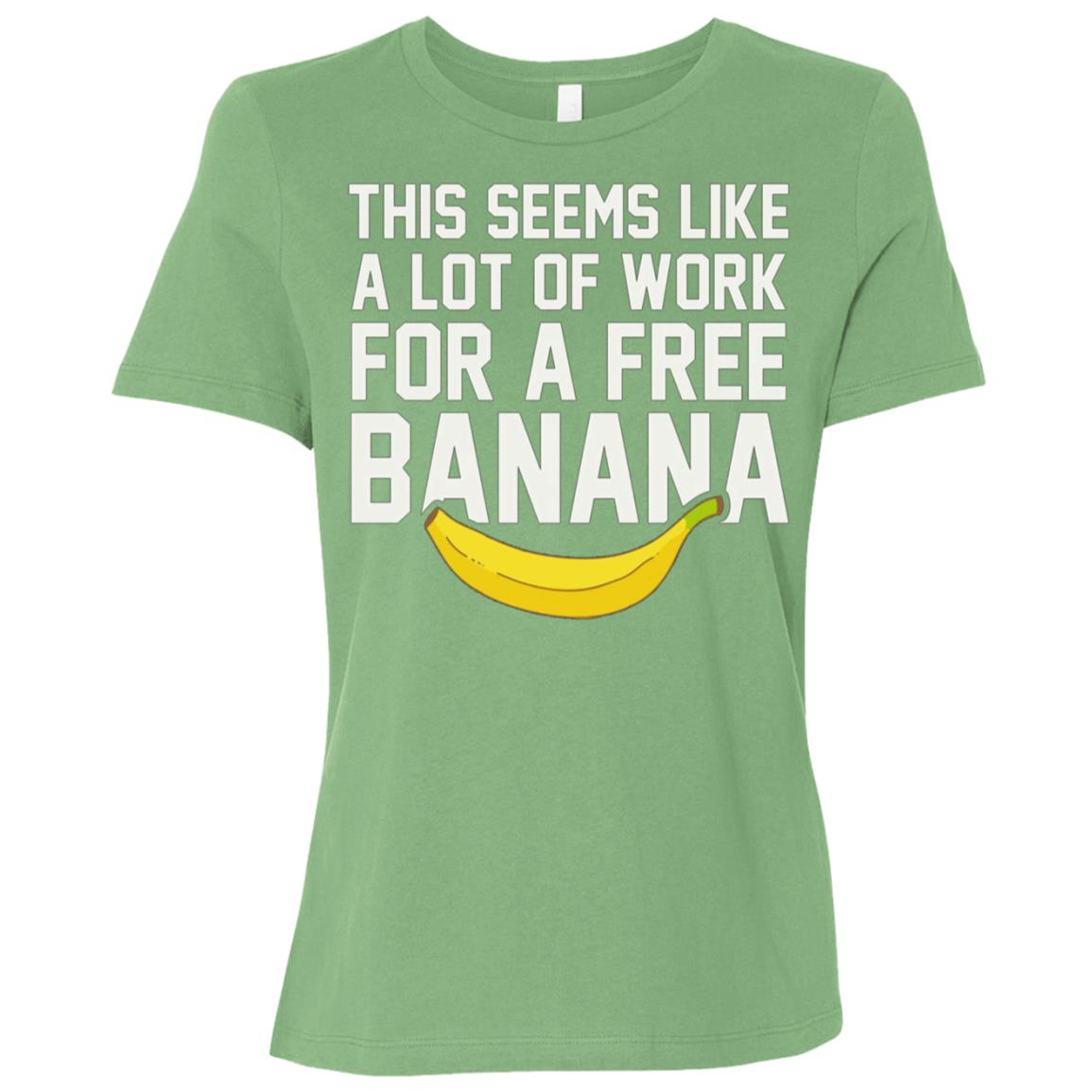 Funny Cross Country Runnings – XC Free Bananaa Women Short Sleeve T-Shirt