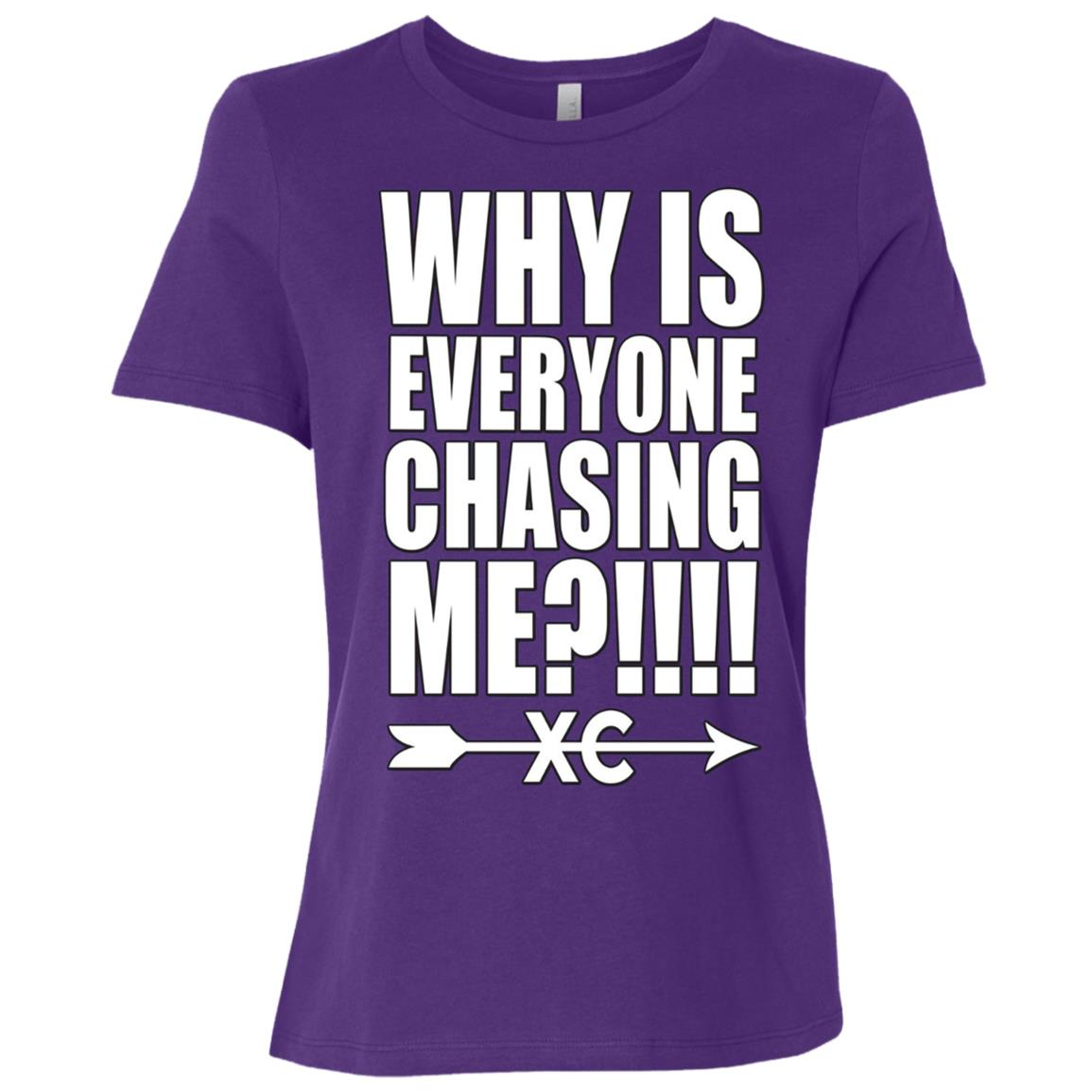 Funny Cross Country Running Women Short Sleeve T-Shirt