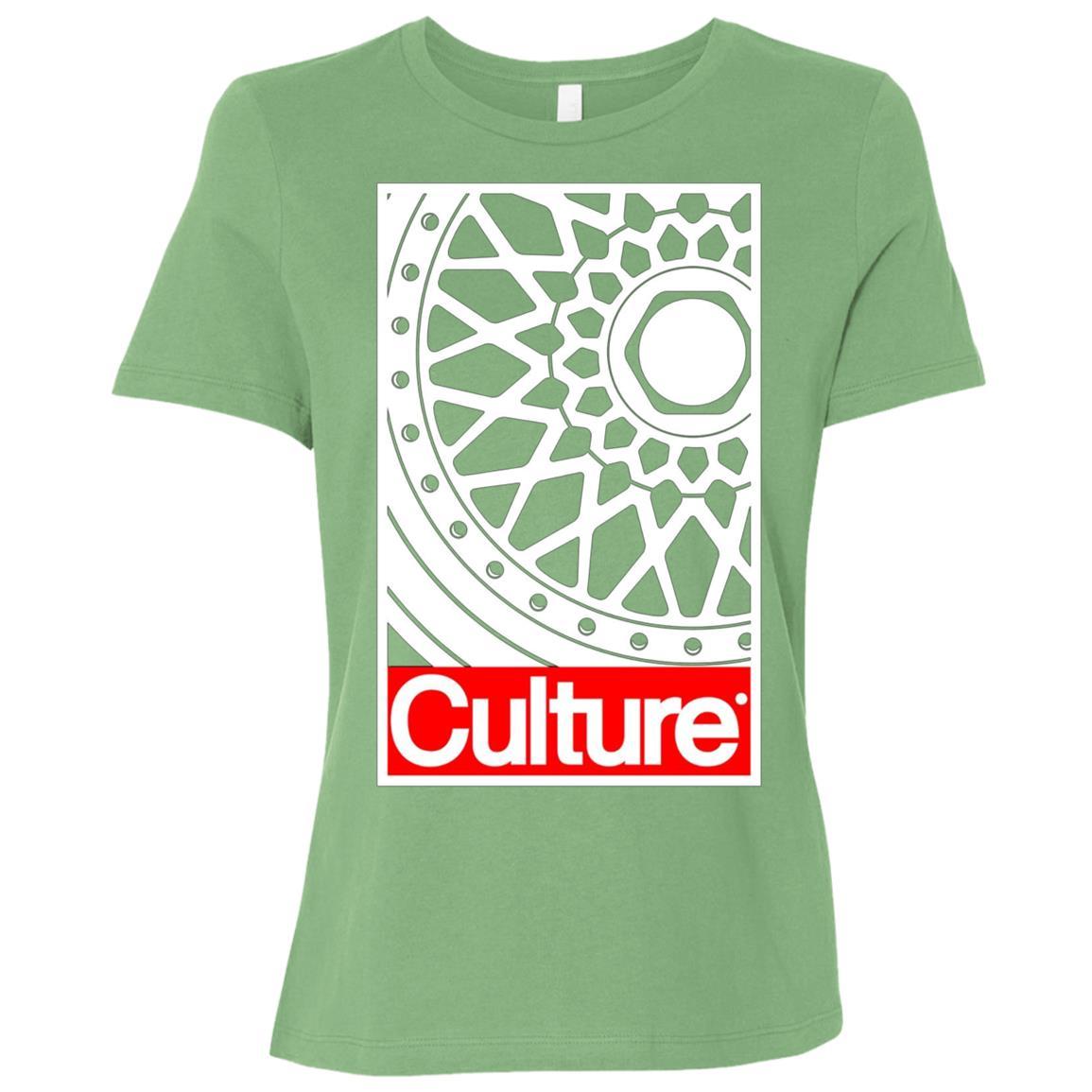 Car Culture RS Wheel Modified Car Lover Women Short Sleeve T-Shirt