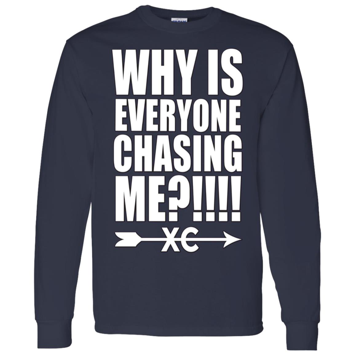 Funny Cross Country Running Men Long Sleeve T-Shirt