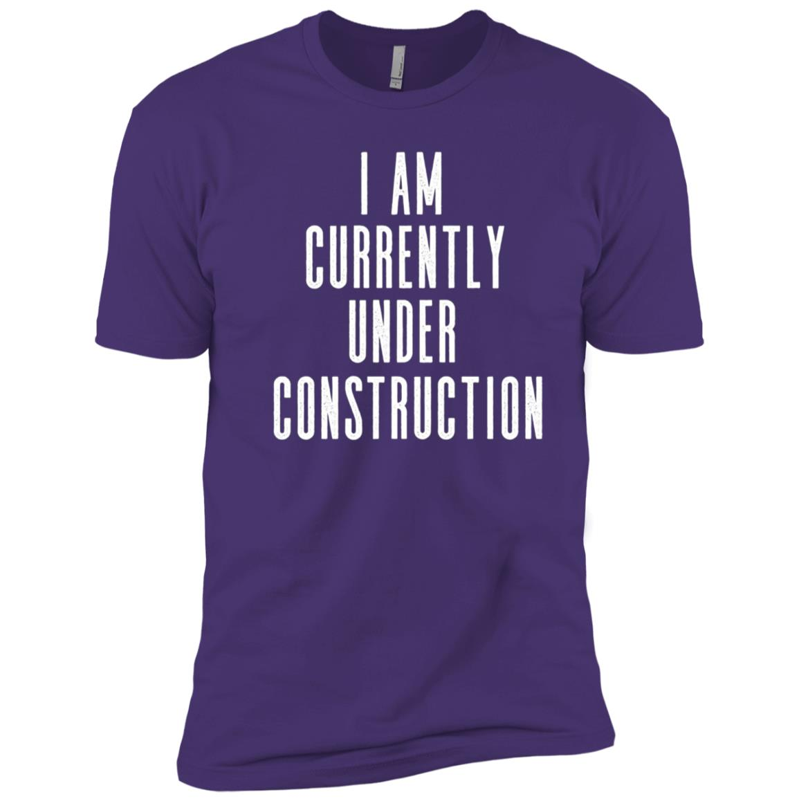 Funny Workout – Currently Under Construction Men Short Sleeve T-Shirt