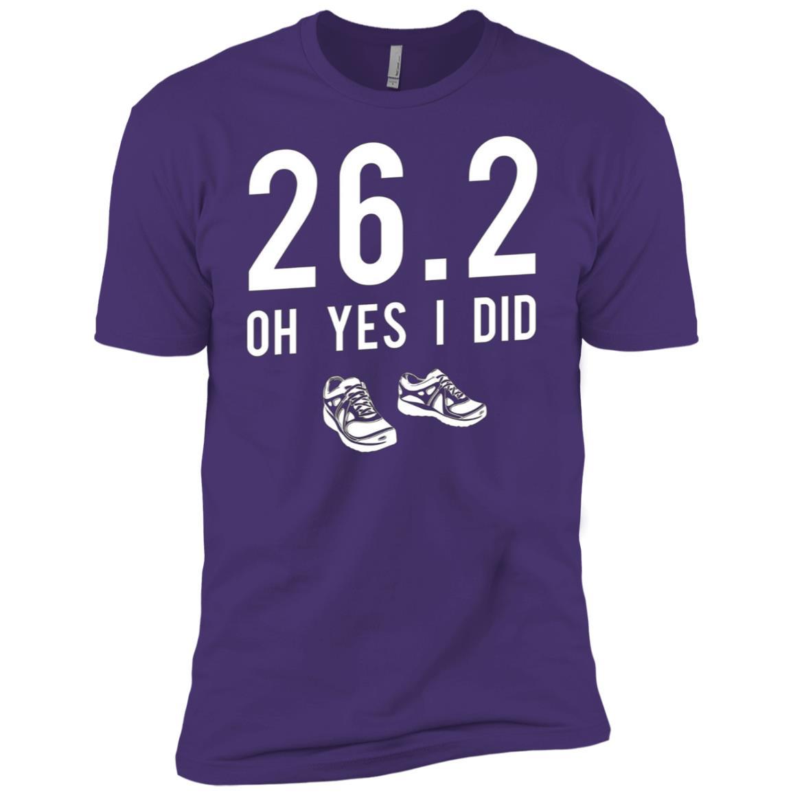 Funny Marathon Running , Long Distance Tee For Runner Men Short Sleeve T-Shirt